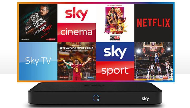 """Sky lancia l'offerta """"Prova Sky Q"""" con una nuova campagna pubblicitaria"""