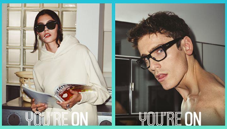 """Alcune immagini della nuova campagna """"You're on"""" di Ray-Ban"""