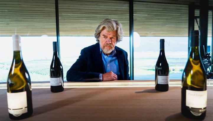 Reinhold Messner, protagonista del nuovo spot dei vini dell'Alto Adige