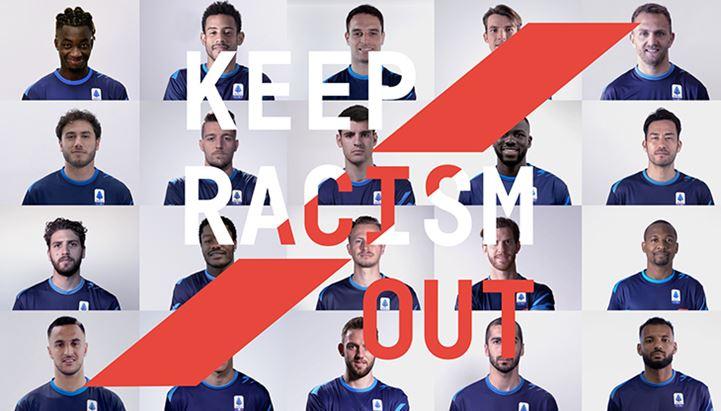 """Il video """"Keep Racism Out"""" è parte della campagna anti-discriminazioni promossa da Lega Serie A con Unar"""