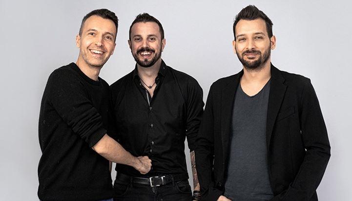 Da sinistra: Matteo Cordini, Gabriele Stroppa e Paolo Carravieri, soci di Playground
