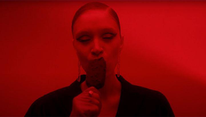 Un frame del nuovo spot dedicato a Magnum Inferno