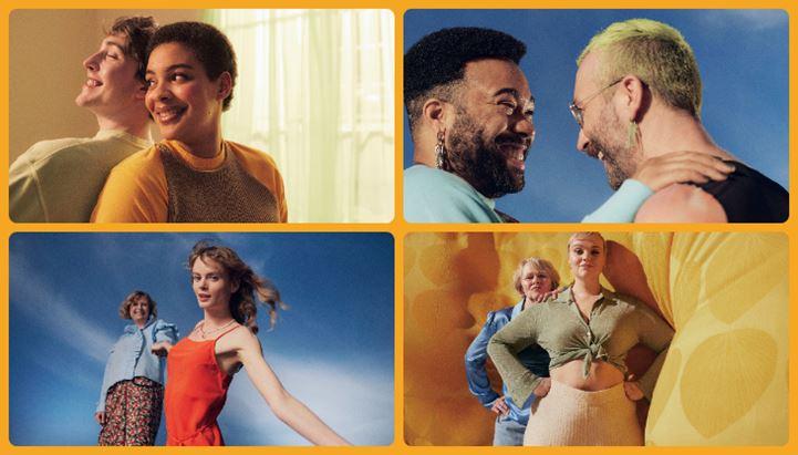 Alcune immagini della nuova campagna pubblicitaria Zalando