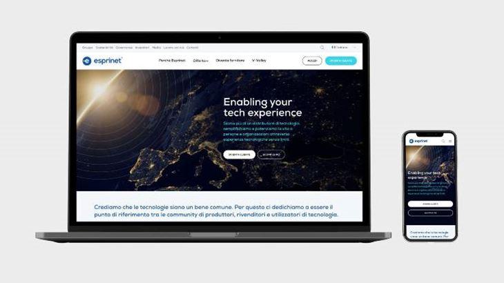 Boraso firma il nuovo sito di Esprinet