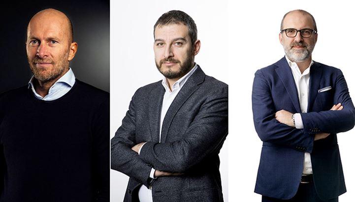 Bruno Bertelli,  Andrea Di Fonzo e Roberto Leonelli