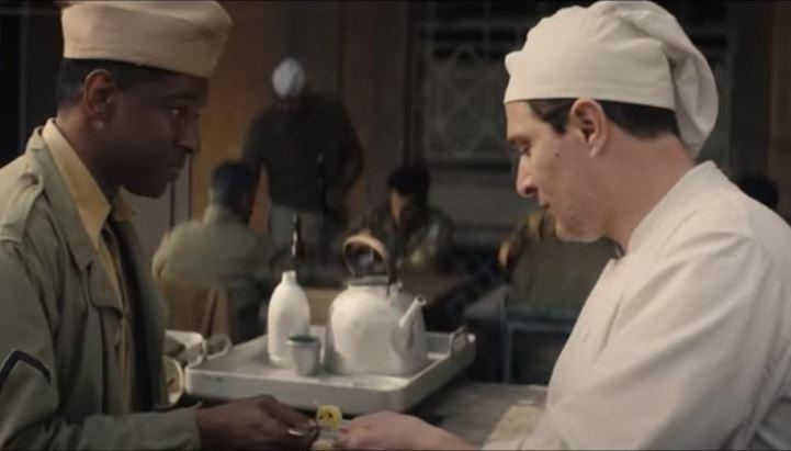 Yonv Joseph e Claudio Santamaria nel cortometraggio Barilla