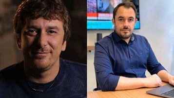 Gianluca Cozzolino, Ceo & Founder, e Giorgio Mennella, Advertising Director di Ciaopeople
