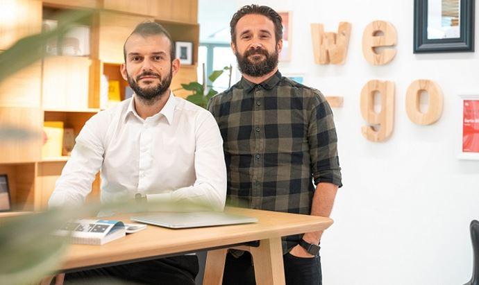 Denad Alimani e Tomas De Zanetti