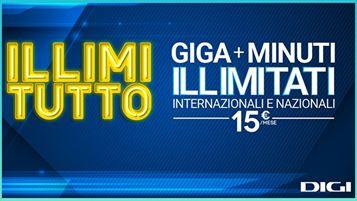 L'offerta Illimitutto al centro della nuova campagna Digi Italy