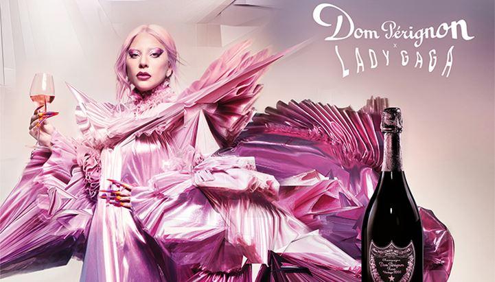 Lady Gaga è la protagonista del nuovo spot Dom Pérignon