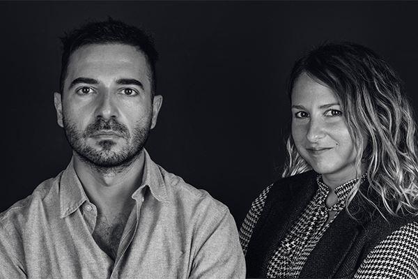 Frank Guarini e Vittoria Apicella