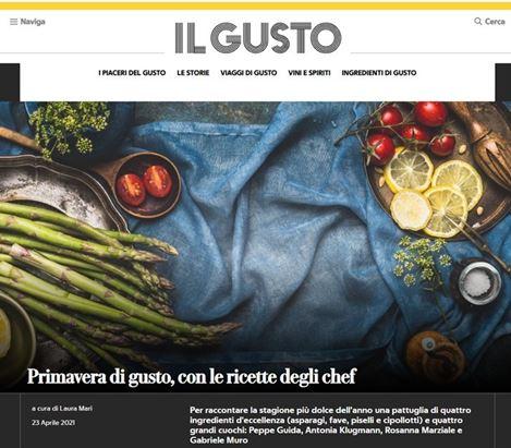 Nasce Il Gusto, nuovo vertical di Gedi dedicato al food