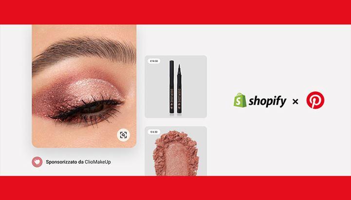 Pinterest amplia la partnership con Shopify anche all'Italia
