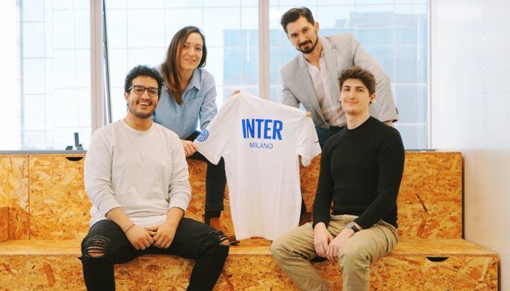 In alto, da sinistra: Carla Romero e Mirko Colombo; in basso, da sinistra: Nabil Kharrish e Angelo Sanvito