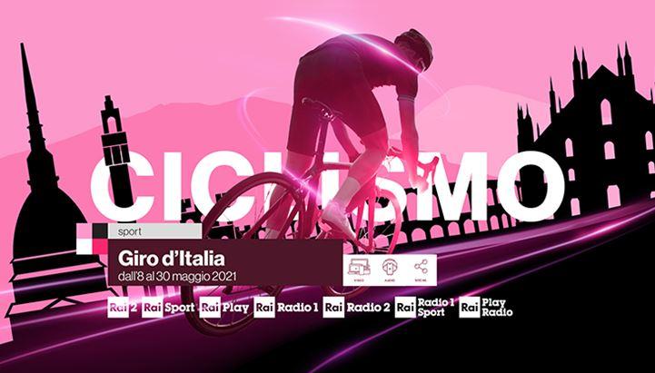 Rai Pubblicità presenta l'offerta commerciale dedicata al Giro d'Italia 2021