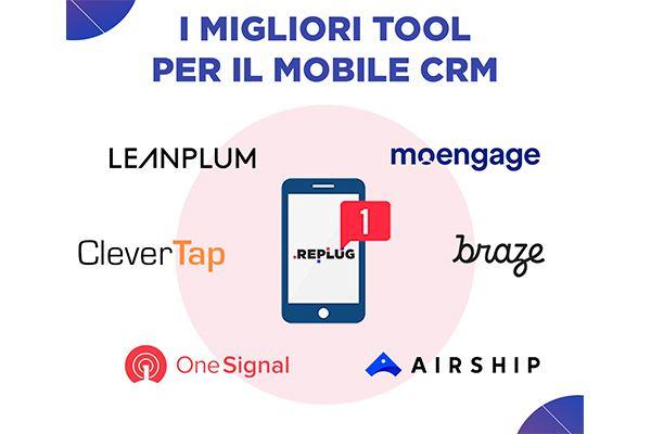 I migliori Tool di Mobile CRM - Fonte REPLUG