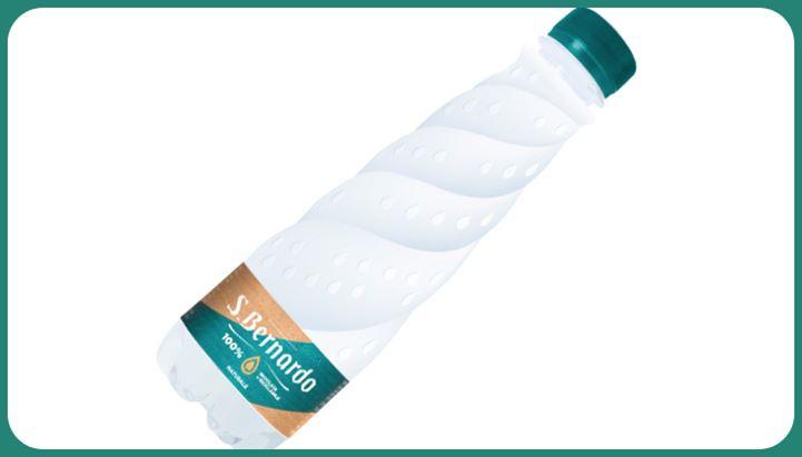 La nuova bottiglia sostenibile S.Bernardo