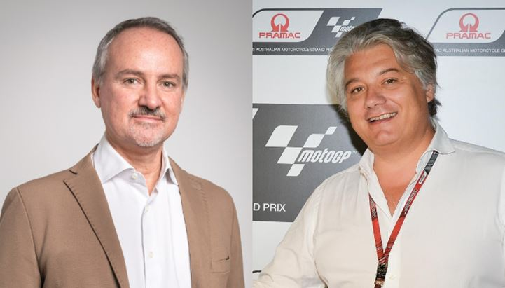 Guido Surci, Chief Sports & Intelligence Officer di Havas Media Group, e Paolo Campinoti, Ceo di Pramac Racing