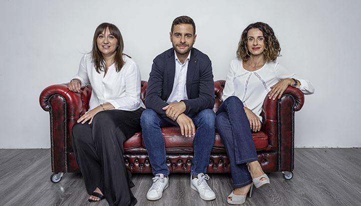 Alessandra Rutigliano, Francesco Pedrazzini e Francesca Luppi