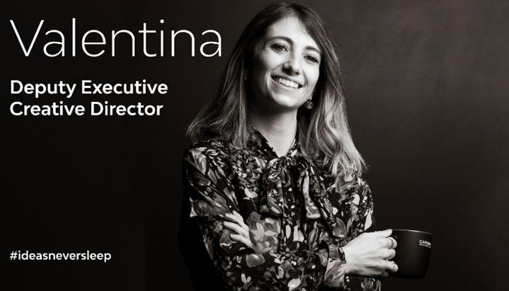 Valentina Amenta, Deputy Executive Creative Director di Caffeina