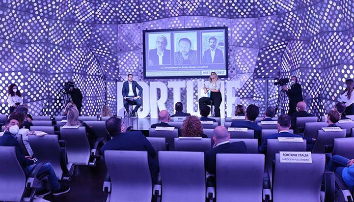 Un momento della convention dedicata alle Best in Media Communication