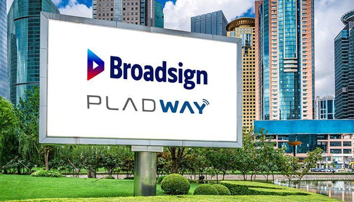 Pladway e Broadsign insieme per il programmatic OOH di nuova generazione