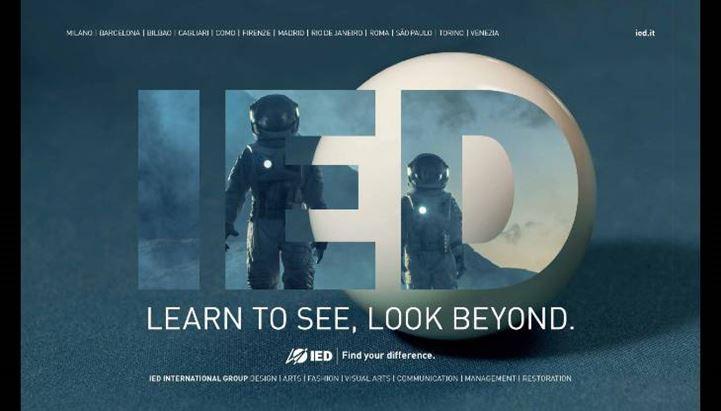 Un soggetto della nuova campagna pubblicitaria dello IED