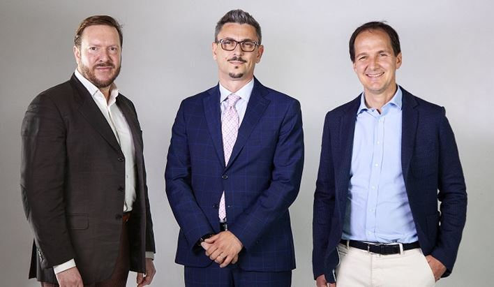 Davide Volpi, Mirco Costarelli, Bertrand Galbiati