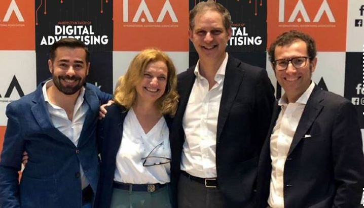 I consiglieri IAA Italy: da sinistra Andrea Cioffi, Stella Romagnoli, Alberto Dal Sasso, Marco De Angelis
