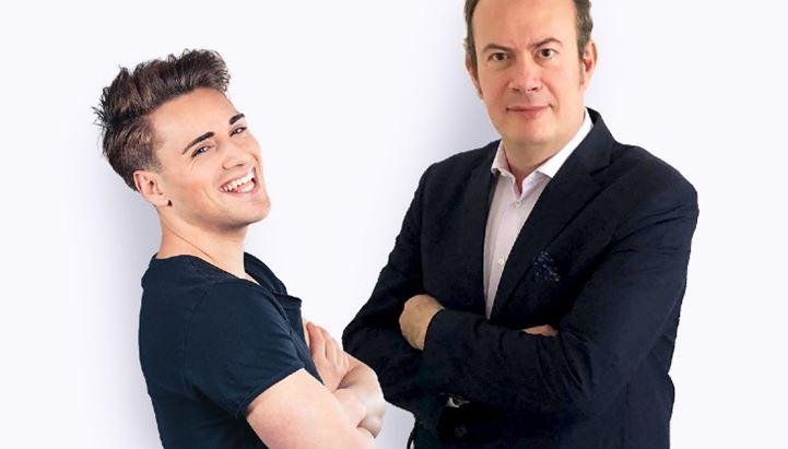 Da sinistra: Fabio Farati (@faffapix) e Pasquale Marcone, a.d. PM Management
