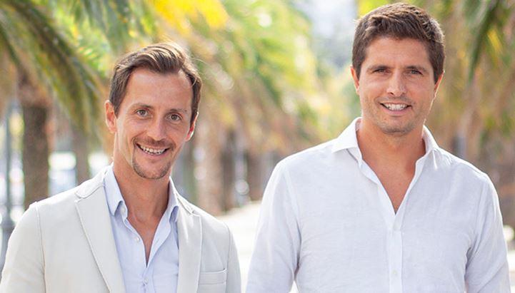 Da sinistra: Francesco Pelosi e Nicholas Figoli, fondatori di Suntimes