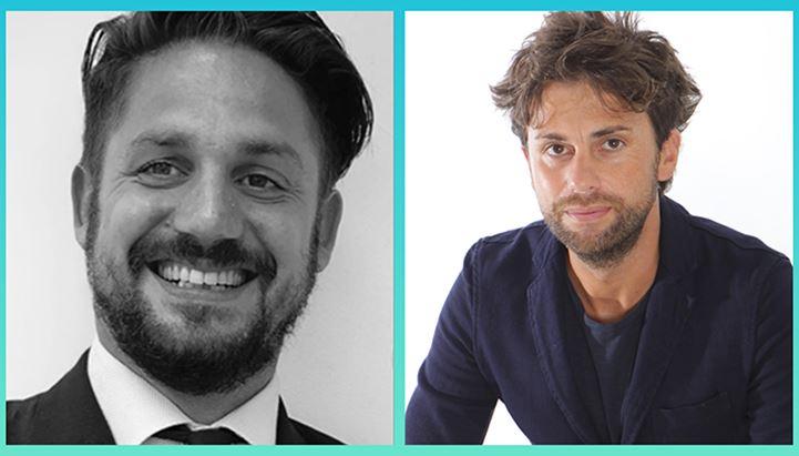 Giorgio Corradini (Seedtag) e Nicola Bertona (247Production)