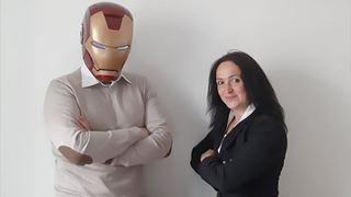 Fulvio Sbranchella, ceo di HeyMatic, e Manuela Redaelli, co-founder