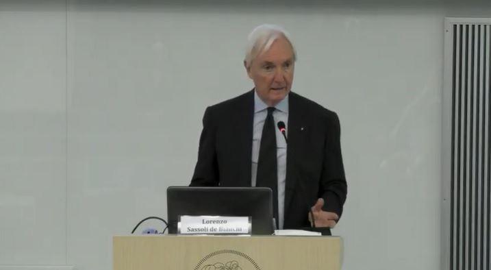 Lorenzo Sassoli de Bianchi è Presidente di UPA