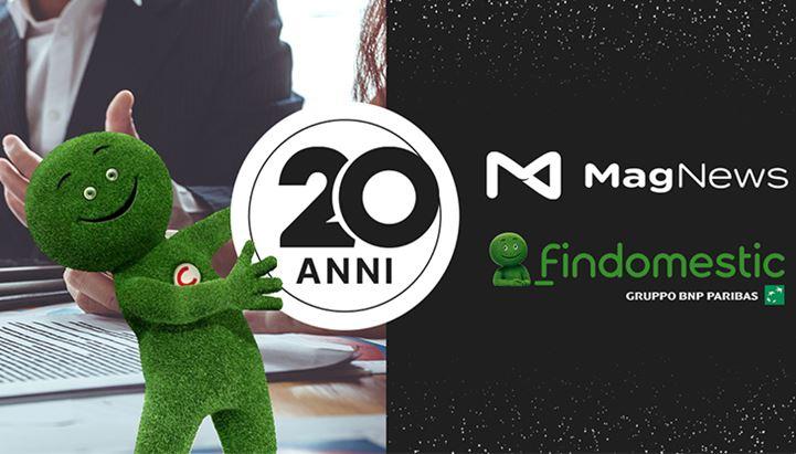 MagNews e Findomestic festeggiano vent'anni di collaborazione