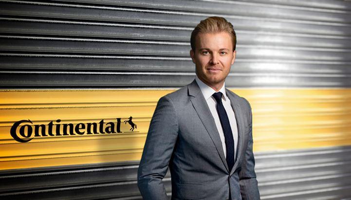 Nico Rosberg è il nuovo brand ambassador di Continental