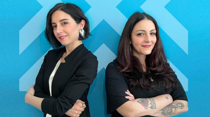 Nicoletta Zanterino e Cinzia Caccia