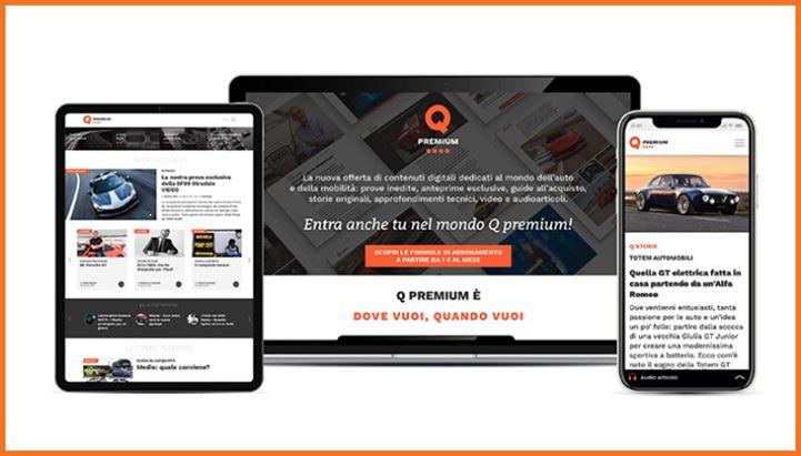 Quattroruote lancia l'offerta a pagamento Q Premium