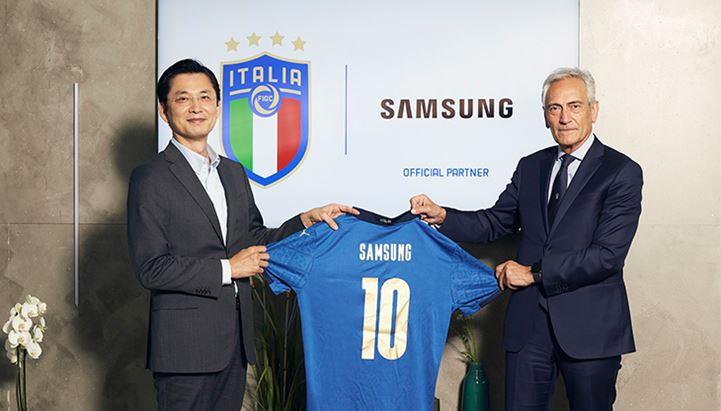 Samsung è Official Sponsor della FIGC