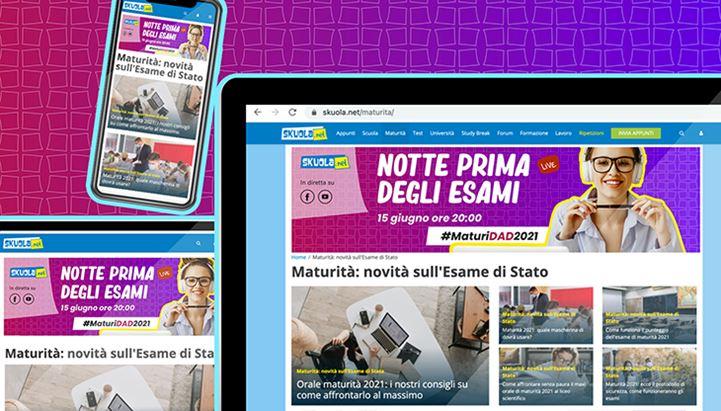 Esami di Stato 2021: l'offerta di Skuola.net per studenti e brand