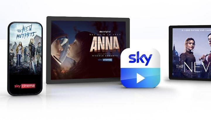 Sky Go è l'app che permette di guardare i contenuti Sky in mobilità
