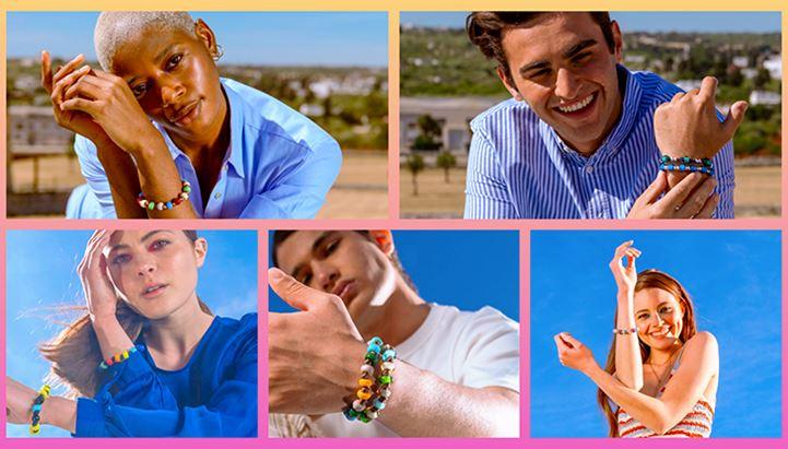 Alcuni dei soggetti della campagna Aua