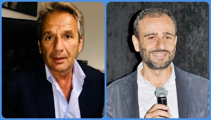 Da sinistra: Fabio Poli e Marco D'Ottavio