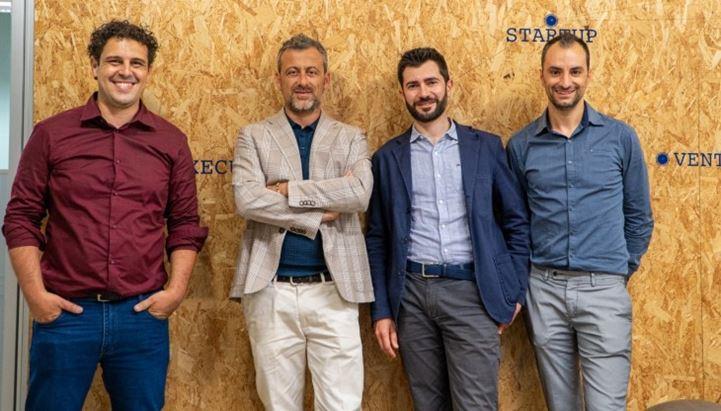 Da sinistra: Daniele Galiffa, Luca Lani, Enrico Angelini, Adelchi Fratò