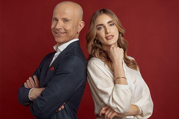 Giorgio Mastrota e Veronica Fedolfi