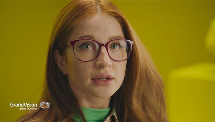 Un'immagine da uno degli spot di GrandVision