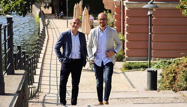 Luca Mastrorocco e Lorenzo Rossi, co-founder di Replug