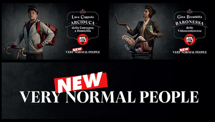 """RTL 102.5 on air con i nuovi spot """"Very NEW Normal People"""""""