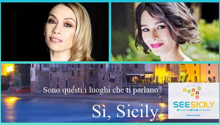 Al via la campagna See Sicily. Tra i testimonial Eleonora Abbagnato e Nicole Grimaudo