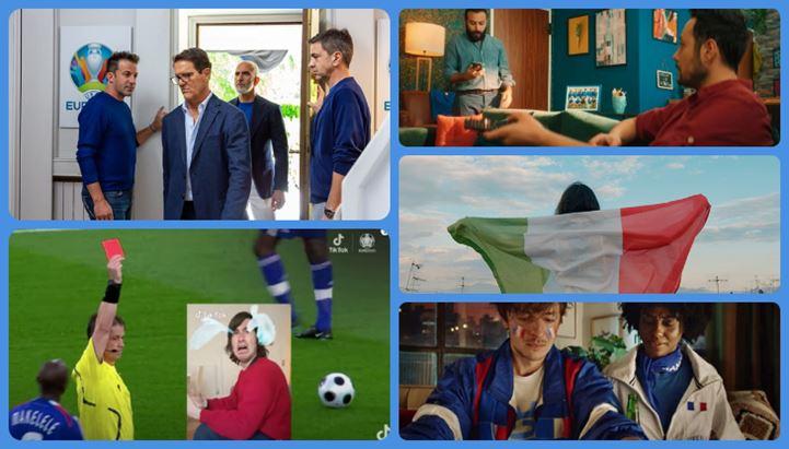 Tanti gli spot dedicati a Uefa Euro 2020